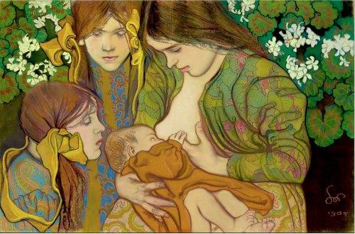 Maternity by Stanislaw Wyspianski